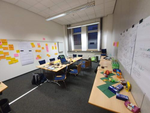 Kreatives Arbeiten beim CodeCamp in Heilbronn. Foto: Privat