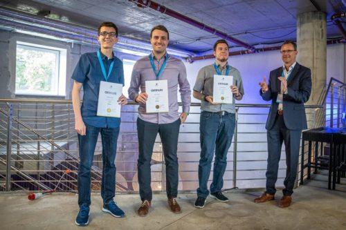 Preisverleihung des Data Mining Cups beim Retail Intelligence Summit in Berlin. Foto: prudsys AG