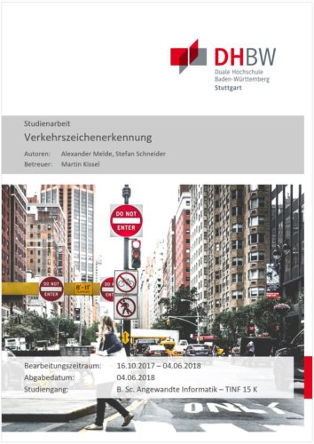 VZE - Deckblatt Studienarbeit
