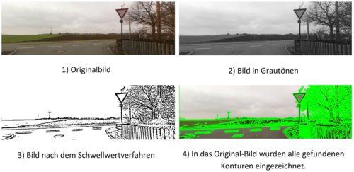 VZE - Filterung Zur Quadrat Detektion