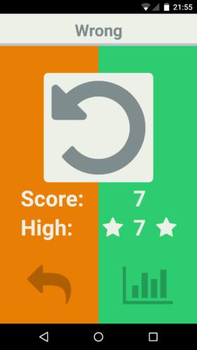 OneChoice Ergebnisseite