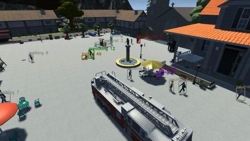 Masterarbeit - Beschriftete Handlungen in der Simulation als Bounding Boxes