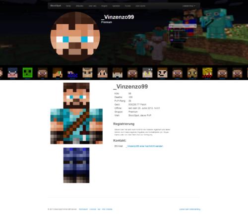 BlockSpot - User Detailansicht